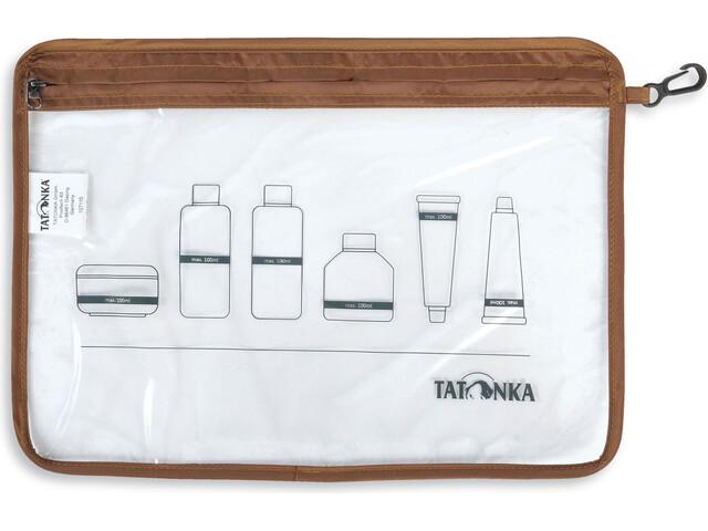 Tatonka Zip Flugzeug-Beutel A4 transparent
